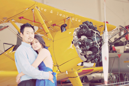 Western Museum Of Flight Engagement Session | Angela+James | Part 1