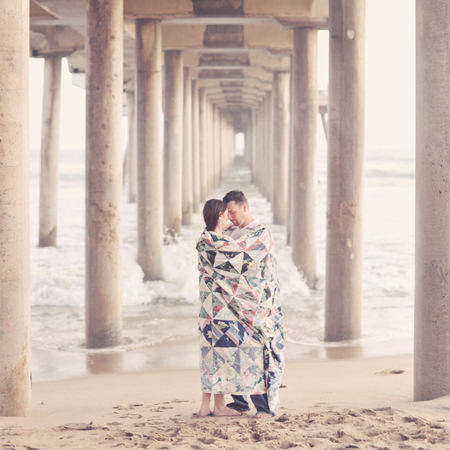 Huntington Beach Engagement Session: Patti+DJ…A Glimpse