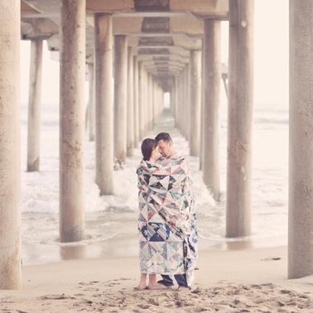 Huntington Beach Engagement Session: Patti+DJ…A Glimpse