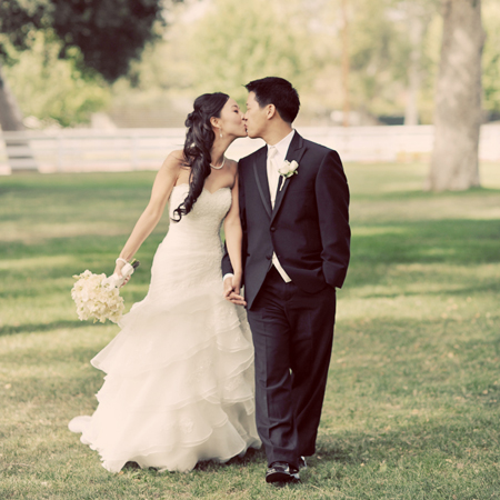 Calamigos Equestrian Wedding: April+Paul…A Glimpse