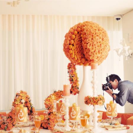 Fotography Friday: Behind The Scenes of Grace Ormonde Wedding Style Magazine Editorial Shoot With Lawrence Chan Photography