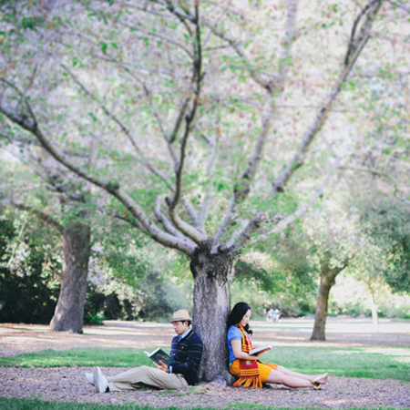 Descanso Gardens Engagement Session: Eliza+Scott…Engaged!