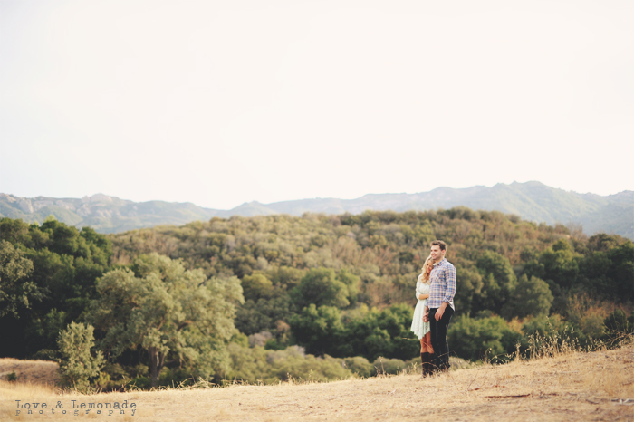 Los Angeles Wedding Photographer; Orange County Wedding Photographer; Destination Wedding Photographer; nina suh; kara udell; david friedman; malibu creek stat park; los angeles engagement session; vintage engagement photos; romantic engagement photos; love and lemonade photography; loveandlemonade.com; loveandlemonade nina; engagement session in a field; free people seafoam lace dress;