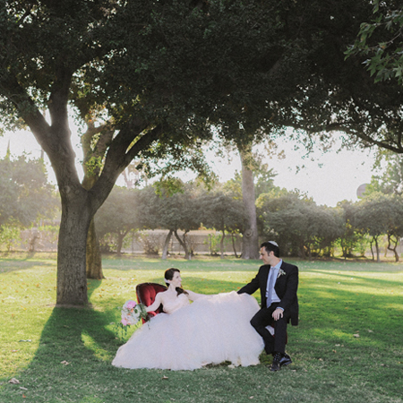 Calamigos Equestrian Wedding: Bettina+Jonathan!