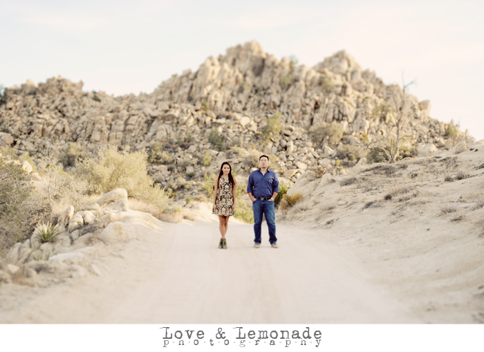 Joshua Tree Engagement Session: Crystal+George!