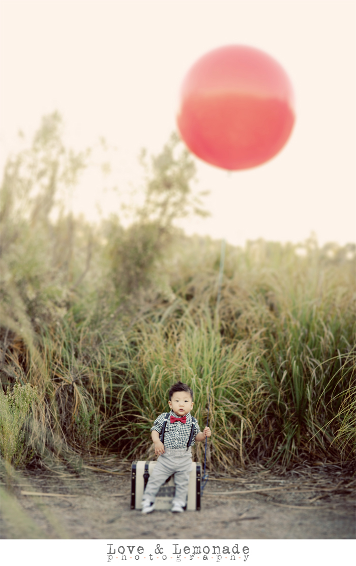 zachary and red balloon Have a lovely weekend!