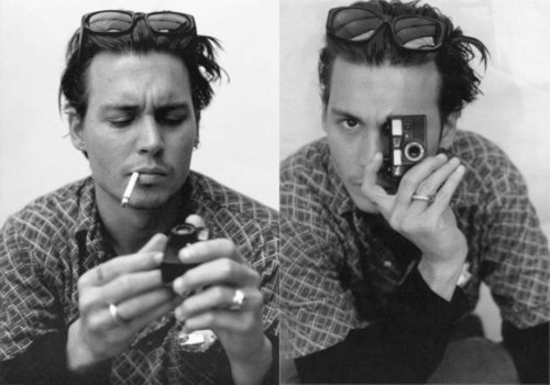 johnny depp with camera, love and lemonade photography, mixtape monday, loveandlemonade nina, loveandlemonade.com, los angeles wedding photographer, orange county wedding photographer