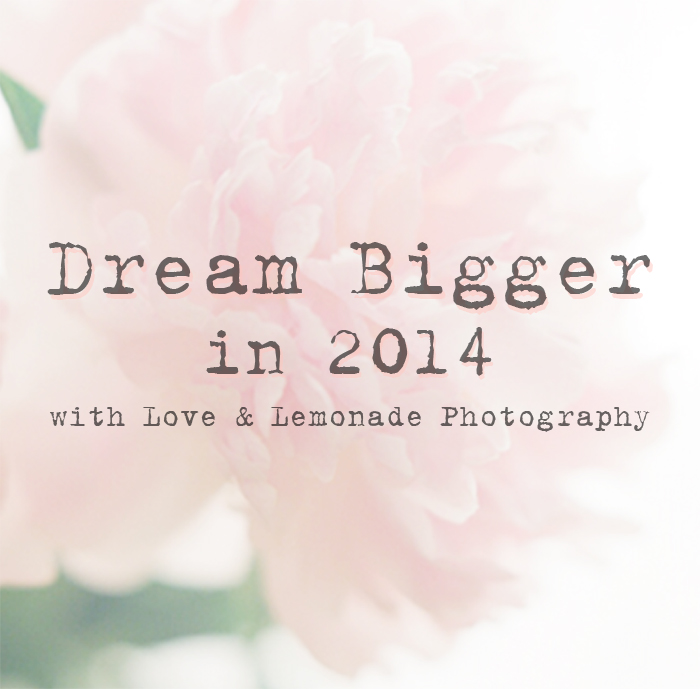 DREAM BIGGER IN 2014