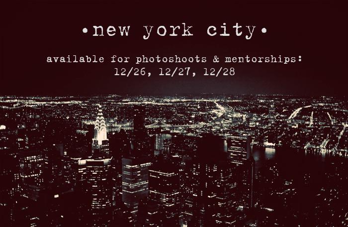NEW YORK CITY: 12/26/13 – 01/01/14