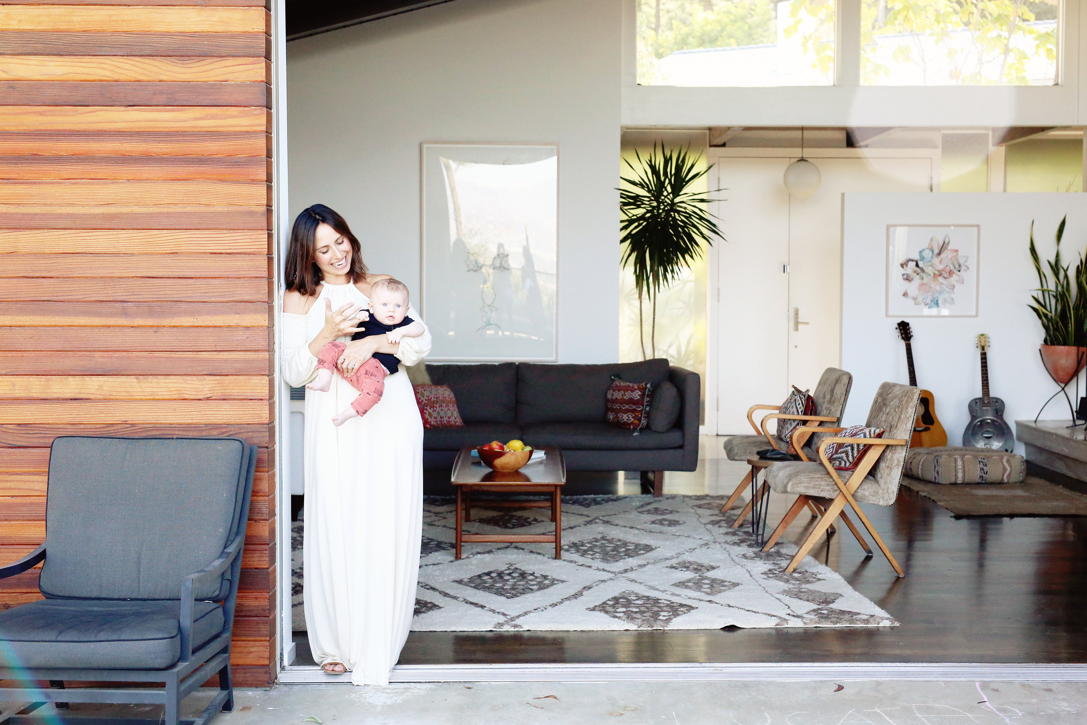 rachel pally, rachel pally home, mini magazine, love and lemonade, los angeles lifestyle photographer, lifestyle photography, los angeles family photographer, family photography, family photographer, nina lance, mid century modern decor, mid century modern home design