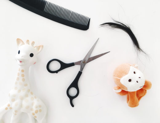 Why giving our baby's first haircut was emotional.